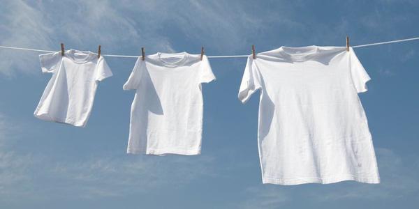 Сушка белой одежды