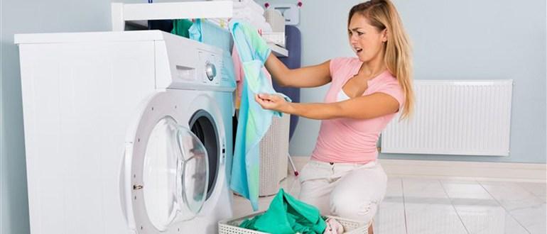 Белье не отстиралось в стиральной машине