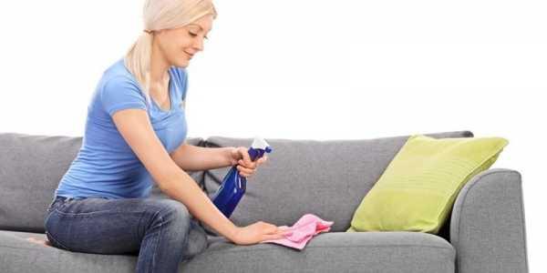Выведение пятен мочи с дивана
