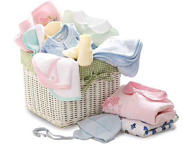 Стирка вещей для новорожденных