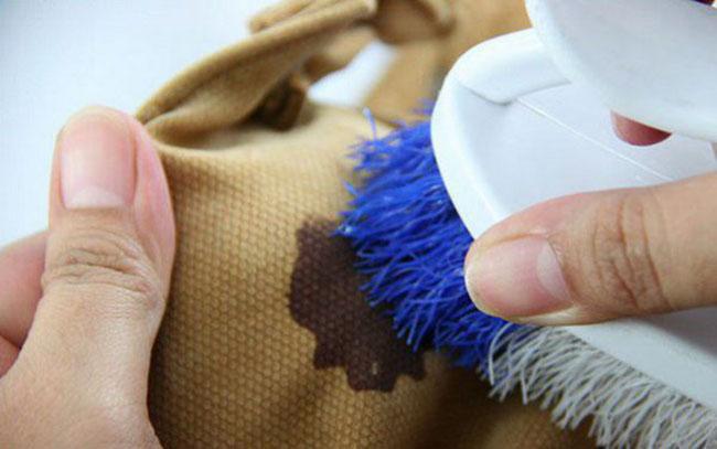 Очищение белья от йода