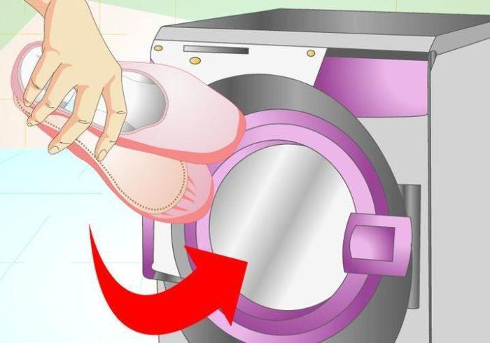 Стирка балеток в стиральной машинке