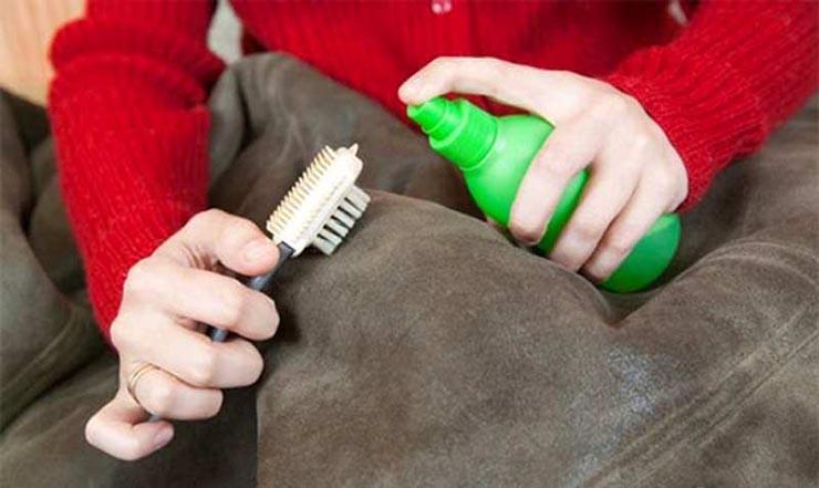 Сухая чистка ткани
