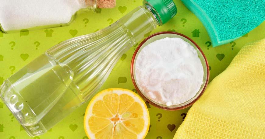 Уксус, лимон, сода
