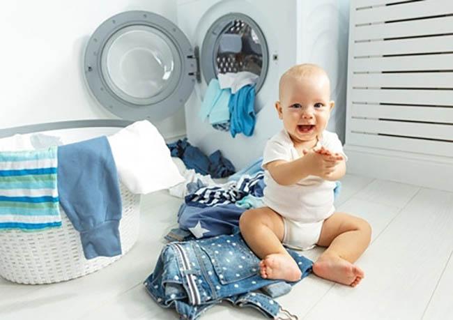 Стирка детского белья в стиральной машине