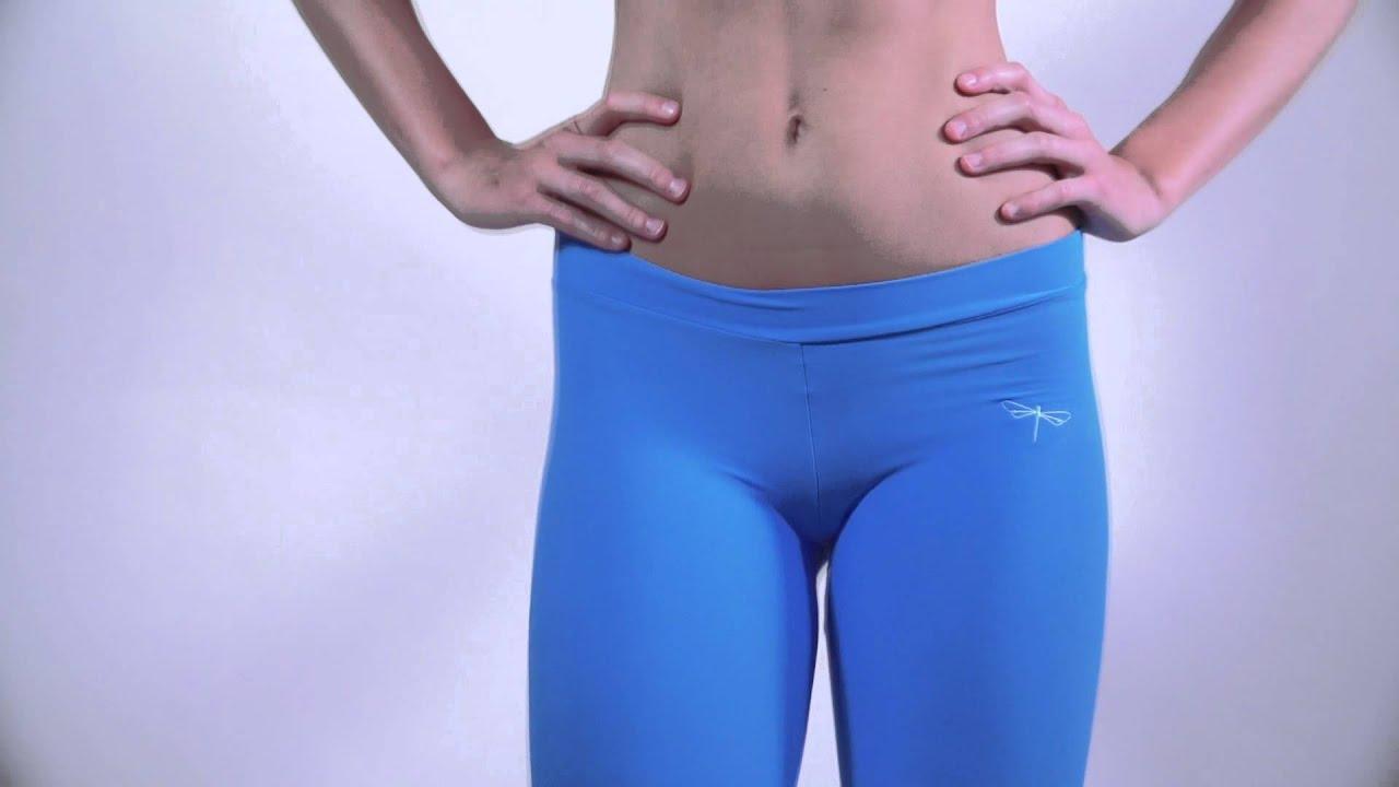 Спортивные штаны из лайкры
