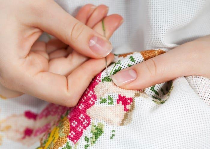 Схема вышивки стирка одежды